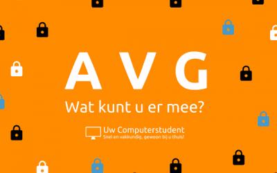 De AVG – wat kunt u er mee?