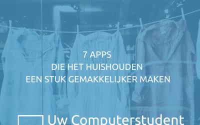 7 apps die het huishouden een stuk gemakkelijker maken