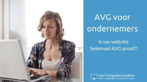 AVG voor ondernemers