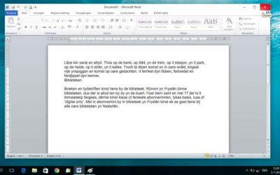 Nu ook Friese spellingscontrole in Office programma's!